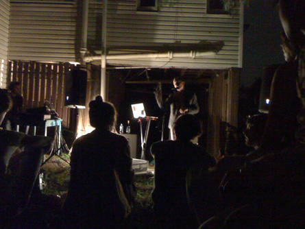 Jens Lekman @ A Brisbane Backyard