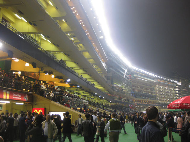 Happy Valley Racecourse - Below