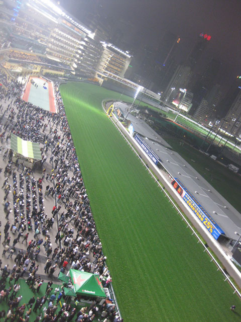 Happy Valley Racecourse - Above