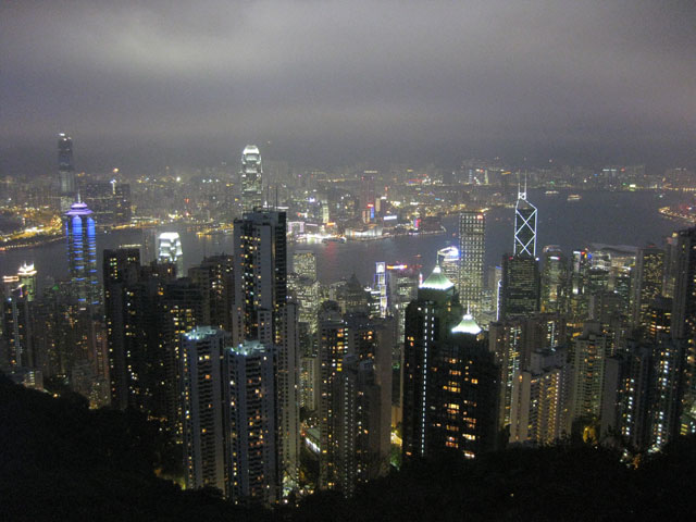 The Peak At Night