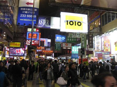 Mong Kok Streets