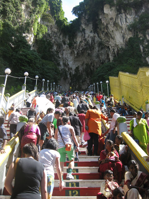 Batu Caves - Stairs