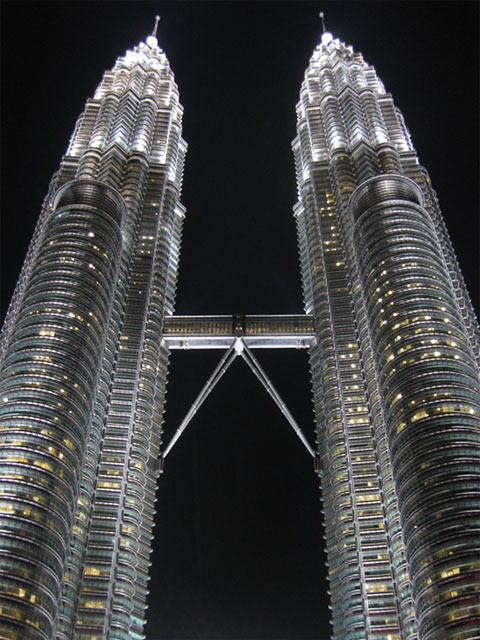 Twin Towers - Night